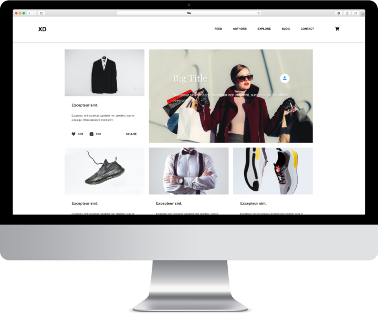 E COMMERCE DESKTOP